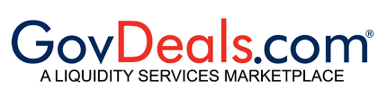 Image of the word Govdeals which is in form of their Logo.png