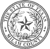 The Milam County TX Logo