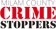 The Milam County Crime Stoppers Logo